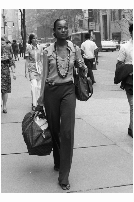 Naomi Sims - June 23, 1969 NYC Photo Gosta Peterson