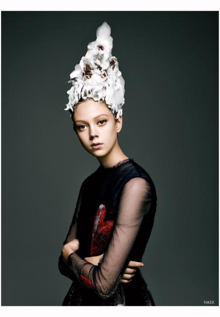 Natalie Westling Vogue, October 2014 Gregory Harris