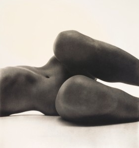 Nude No. 58, New York 1949 print 1976 Photo Irving Penn