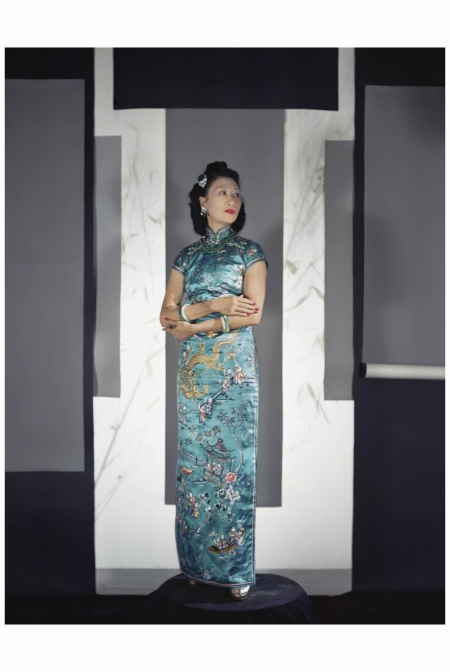 Oei Huilan (the former Madame Wellington Koo), 1943 Photo Horst P. Horst