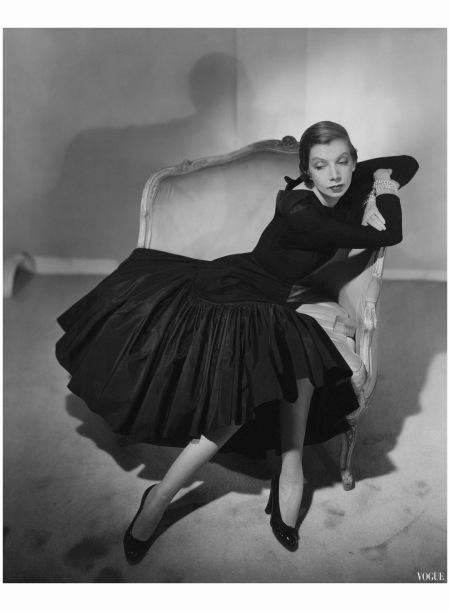 Pauline de Rotschild Vogue March 1950 Horst P. Horst