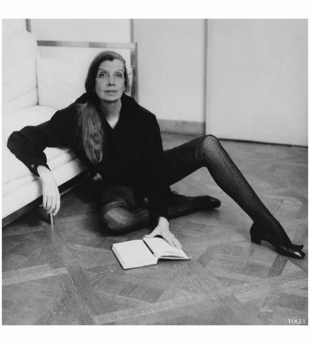 Pauline de Rotschild - ysl -left bank right bank Vogue June 1968 Horst P. Horst