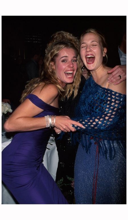 Rebecca Romijn-Stamos and Drew Barrymore, September 1999 Dave Allocca