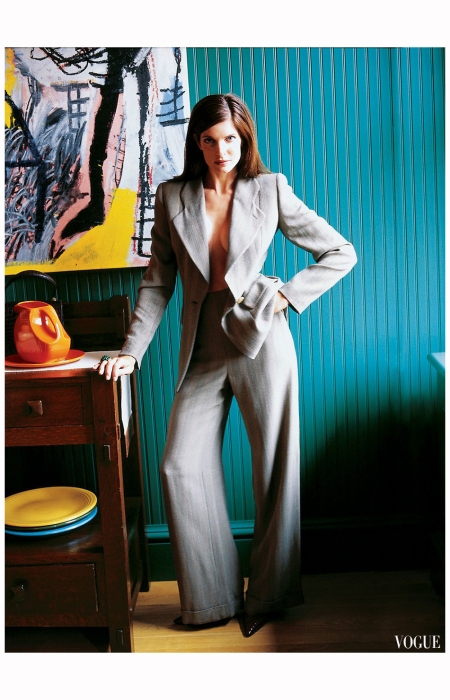 Stephanie Seymour, Vogue, September 2004 Photo Arthur Elgort