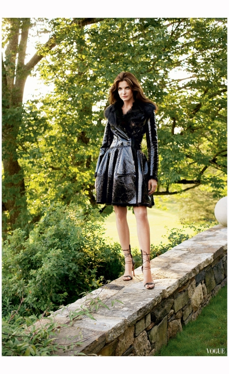 Stephanie Seymour Vogue, September 2007 Photo Arthur Elgort