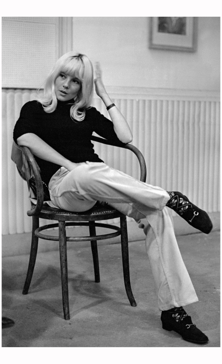 Sylvie Vartan - At home, 1967 Georges Kelaïditès : Roger-Viollet : The Image Works