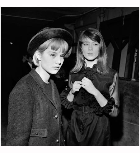 Sylvie Vartan With Françoise Hardy, at the Olympia, November 1963 Lipnitzki : Roger-Viollet : The Image Works