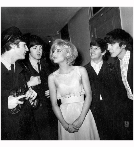 Sylvie Vartan - With the Beatles at the Olympia, January 1964 AGIP:RDA:Everett Collection