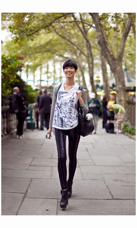 Tao Okamoto Teen vogue Street style