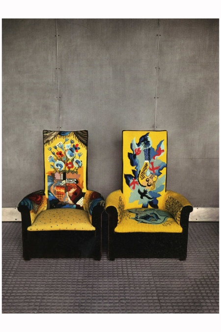 Two Chairs At Maison De Verre Paris 1982 Photo Evelyn Hofer