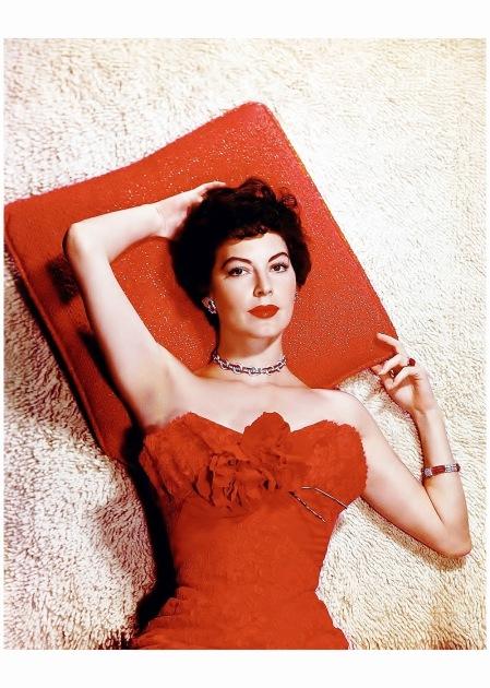 Ava Gardner 1955 ca Virgil Apger