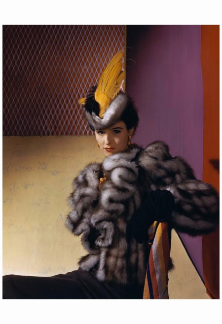 Babe Paley Wearing John Frederics Be-winged 1939 Horst P. Horst: