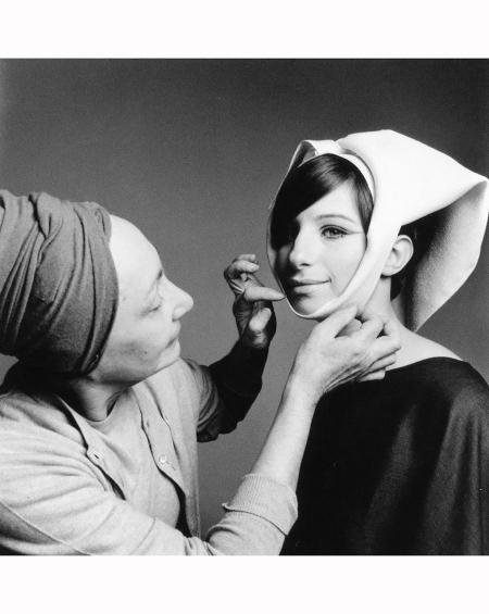 Barbra Streisand with Madame Grès Paris, January 7, 1966 Richard Avedon