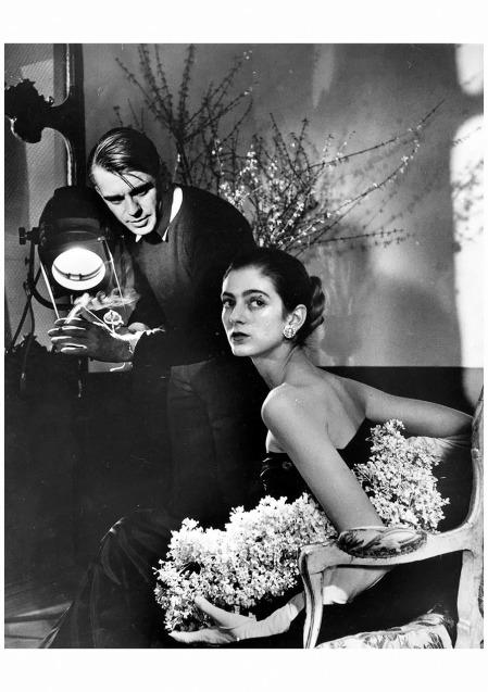 Carmen dell'Orefice with Horst Leonard McCombe 1947 LIFE Archive