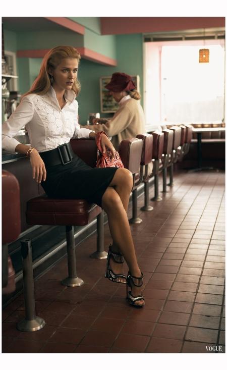 Carmen Kass Vogue, March 2006 Steven Klein