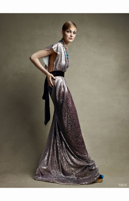 Caroline Trentini marc Jacobs Vogue Oct 2010 Patrick Demarchelier