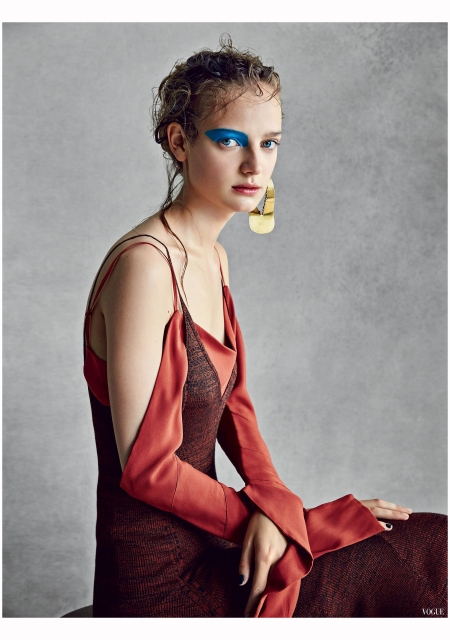 Ine Neefs Patrick Demarchelier, Vogue, August 2015