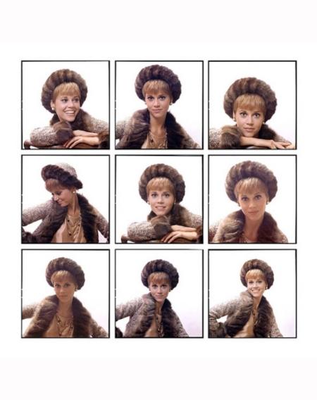 Jane Fonda in ensemble by Chanel 1964 Willy Rizzo b