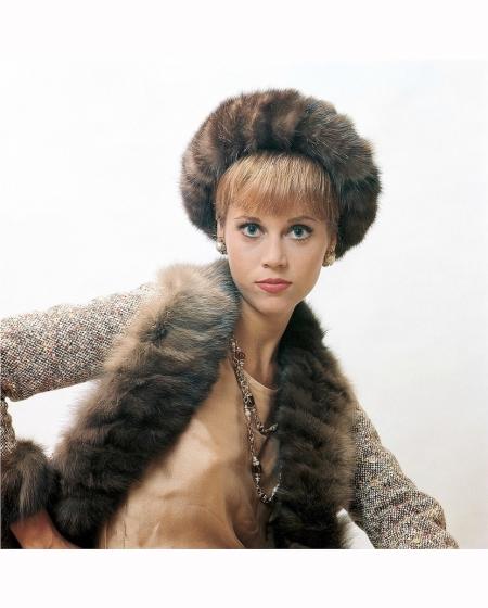 Jane Fonda in ensemble by Chanel 1964 Willy Rizzo