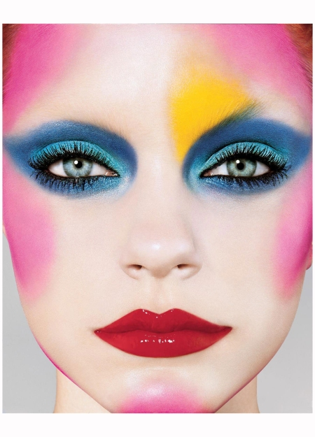 Jessica Stam on the cover of i-D, September 2004 Richard Burbridge pat-mcgrath