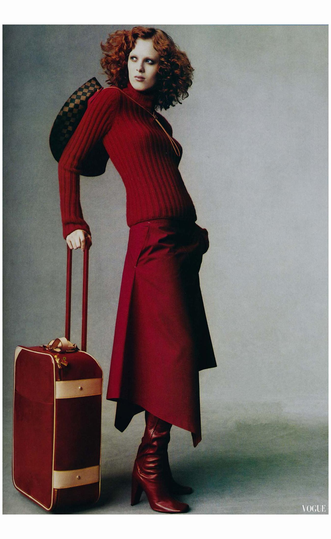 Karen Elson Louis Vuitton Vogue 04cc5944b37d7