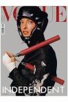 """Linda Evangelista """"Sporting Linda"""" Vogue it Feb 2003 Steven Meisel cover"""