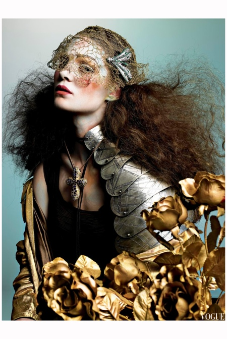 Marina Perez Vogue it 2005 Photo Richard Burbridge