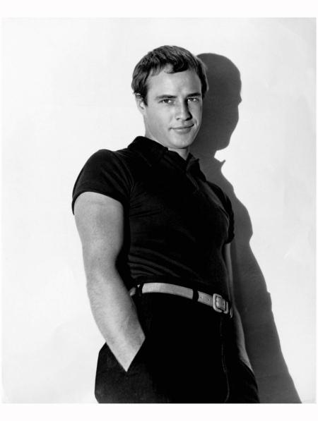 Marlon Brando 1952 Virgil Apger b