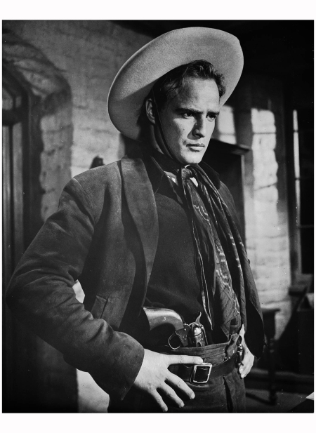 Marlon Brando in the film 'One-Eyed Jacks' in which he plays the outlaw 'Rio'. Marlon Brando took over the director's chair for this film, succeeding Stanley Kubrick. 1961 (Photo via John Kobal Foundation:Getty Images)