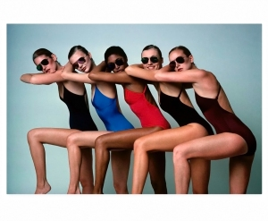 Models Wearing Maillots By Danskin 1977 Photo Alberto Rizzo