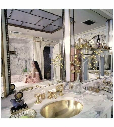 Mrs. Charles Revson, for %22How the Other Half Bathes,%22 for Time, 1971 Ormond Gigli