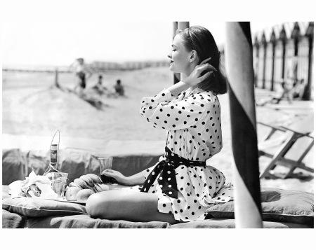 Polka Dots at the Beach Henry Clarke, 1956