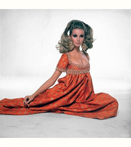 Samantha Jones - Vogue 1967 Bert Stern