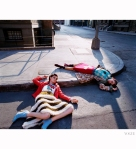 Anouck Lepere and Raquel Zimmermann Raica Oliveira %22Outer Limits%22 Los Angeles, 2000 Photo Steven Meisel sm