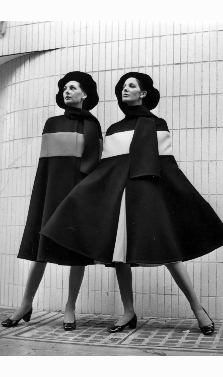 Clothes from the Christian Dior London Autumn Collection 1971  Frank Barratt
