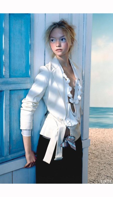 Gemma Ward Vogue mar 2005 Javier Vallhonrat b