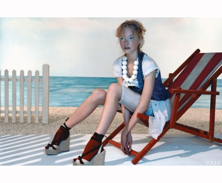 Gemma Ward Vogue mar 2005 Javier Vallhonrat