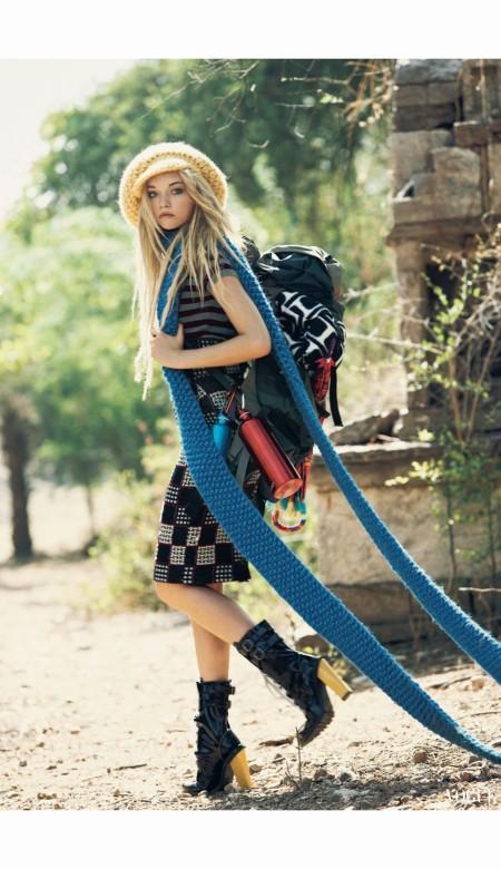 Gemma Ward Vogue September 2007 Patrick Demarchelier