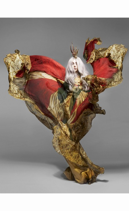 Lady Gaga, Vanity Fair, 2010
