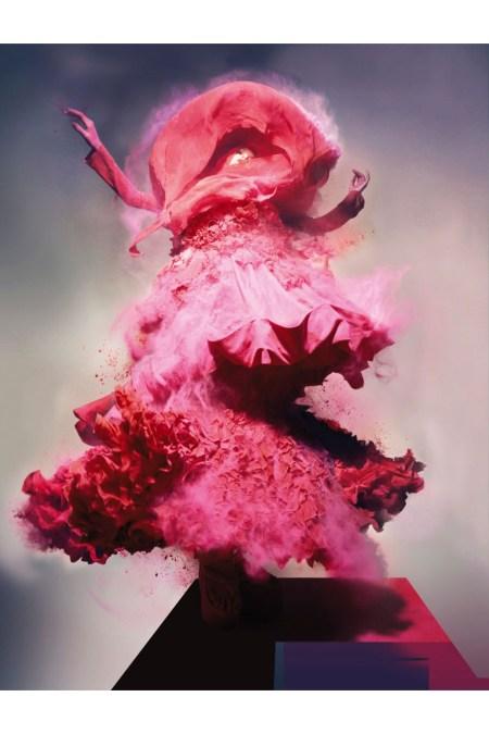 Lily Donaldson, Unbelievable Fashion Vogue UK, 2008 © Nick Knight