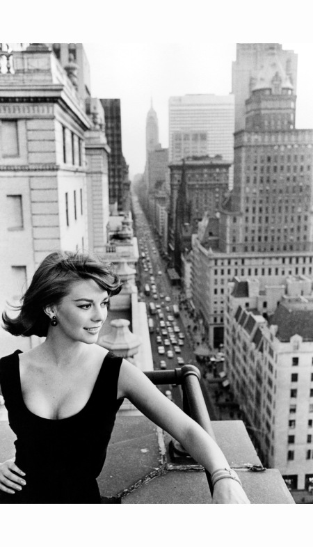 Natalie Wood, New York City, 1961%22 by William Claxton