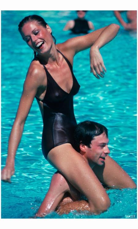 Palm Beach Royal Poinciana Hotel Vogue Jan 1976 Arthur Elgort