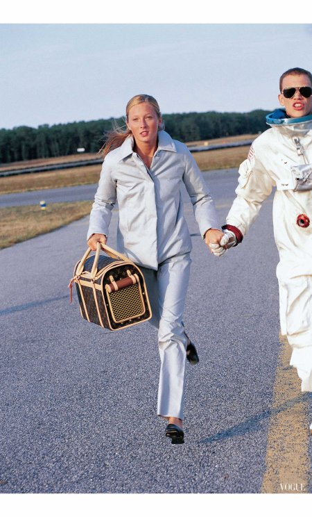 Ryan Locke & Maggie Rizer Vogue November 1998