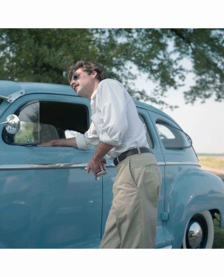 Adin Blue car © Maude Schuyler Clay