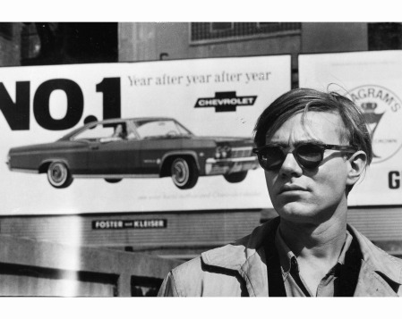 Andy Warhol at the Factory, New-York City, 1964 © David McCabe
