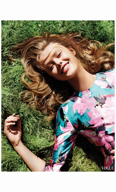 Angelo Pennetta Frida Gustavsson, photographed for Vogue, April 2013