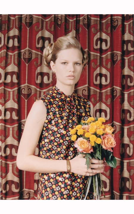 Anna Ewers %22RETRO FITTED %22 W Magazine May 2015 © Venetia Scott b