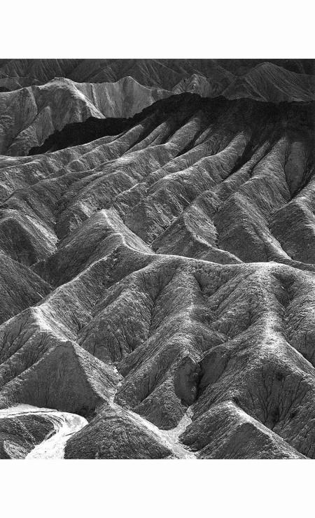 Ansel Adams - Zabriskie Point, Death Valley National Monument, 1942
