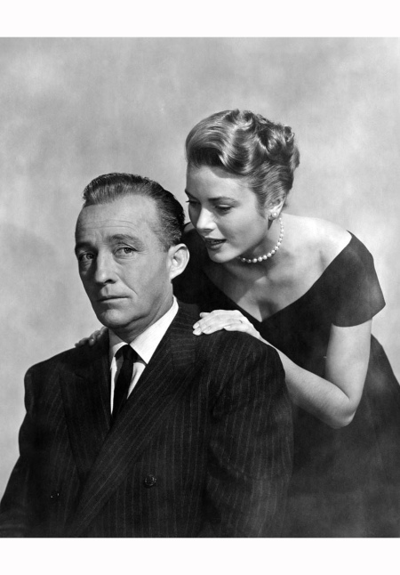Bing Crosby and Grace Kelly in a promotional portrait for 'The Country Girl'1954