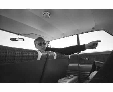 Bullit Steve MacQueen 1968 © Barry Feinstein b